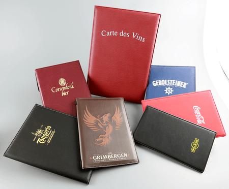 menukaarten, porte-menus