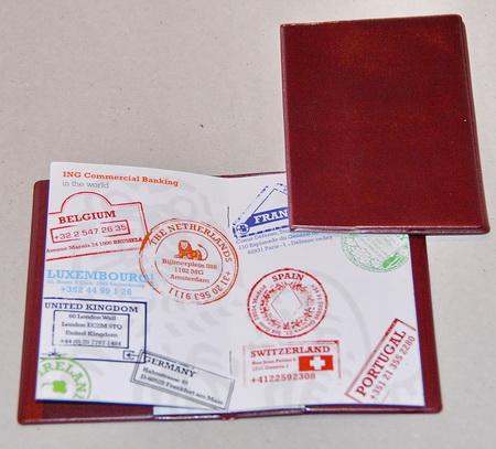 paspoortmap, étui passeport